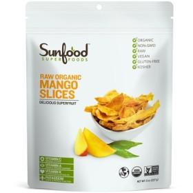 Sunfood,ローオーガニック マンゴースライス,227g