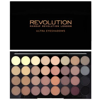 <メイクアップレボリューション>アイシャドウパレット Revolution Ultra 32 Shade Palette Flawless