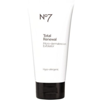 *No7* Total Renewal Micro-dermabrasion Face Exfoliator マイクロスクラブ