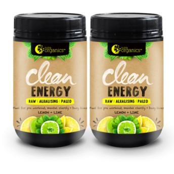 《オーガニック》クリーンエネルギー レモン+ライム 150g x 2(約50回分)