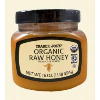 オーガニックロウハニー Organic Raw Honey Trader Joe's