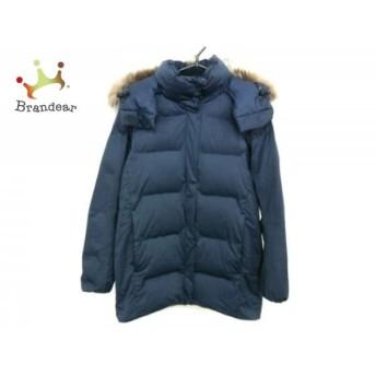 デサント DESCENTE ダウンジャケット サイズM メンズ ダークネイビー 冬物/水沢ダウン 値下げ 20190211