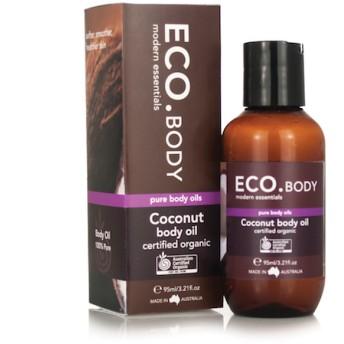 <乾燥がちな肌に>オーガニック認証 ココナッツボディオイル