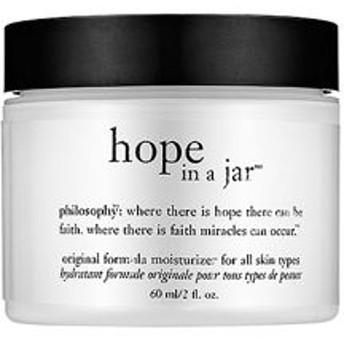 フィロソフィー ホープインアジャー モイスチャライザー 59ml (Philosophy hope in a jar original)