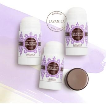 ラヴァニラ アルミニウム未使用デオドラント バニララベンダー x3 (LAVANILA Vanilla Lavender Deo Trio)
