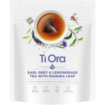 アールグレイ&レモングラスティー 15ティーバッグ / Earl Grey and Lemongrass Tea with Manuka