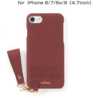 [iPhone 8/7/6s/6専用]salisty(サリスティ)Q パンチング ハードケース(レッド)Q-HC004C 276-898826