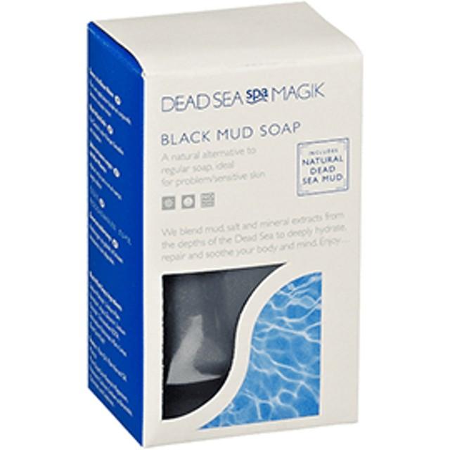 死海の黒泥石鹸 Dead Sea Spa Magik Black Mud Soap 100g