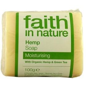 フェイス イン ネーチャー 100% Natural オーガニック ヘンプ&グリーンティー ハンドメイド ソープ