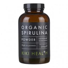 Kiki Health オーガニック スピリルナ パウダー 100% RAW