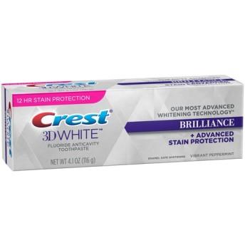 Crest 3D 歯磨き粉 ホワイトブリリアンス 116g