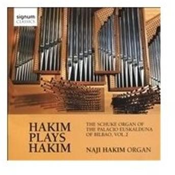 ナジ・ハキム Hakim Plays Hakim - The Schuke Organ of the Palacio Euskalduna of Bilbao Vol.2 CD