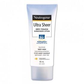 Neutrogena Ultra Sheer 日焼け止め SPF50+ 85 mL 顔・体用