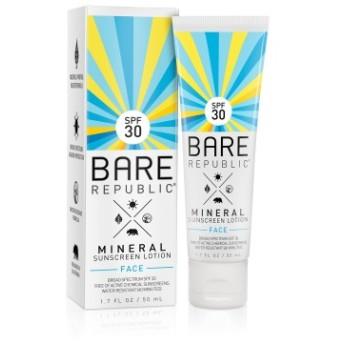 ミネラルSPF30フェイスサンスクリーンローション/Mineral SPF30 Face Sunscreen Lotion