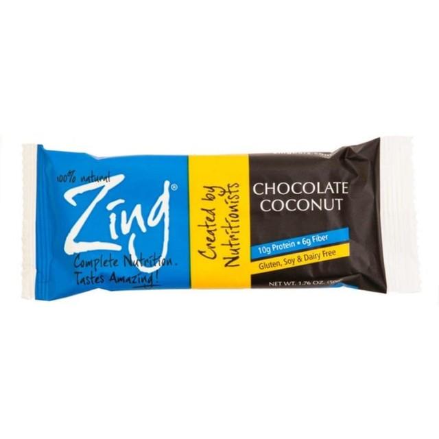 Zing チョコレートココナッツ栄養バー