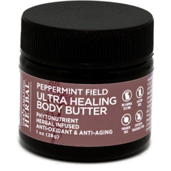 オラズアメージングハーバル ボディバター ペパーミント 28g(Ora's Amazing Herbal Body Butter)