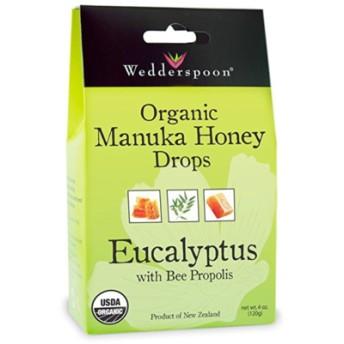 ウェダースプーン USDA認定 ヌカハニードロップ ユーカリ(Wedderspoon Organic Manuka Honey Drops)