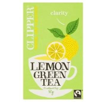 Clipper オーガニック レモングリーン ティー 紅茶 25ティーバッグ