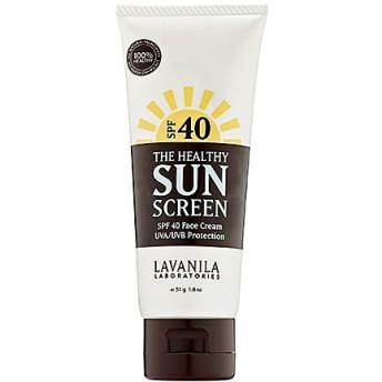 ラヴァニラ フェイス用サンスクリーン(LAVANILA The Healthy Sun Screen SPF 40 Face Cream)
