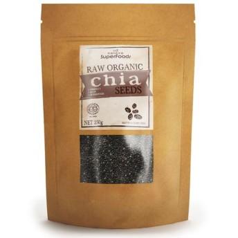 オーガニック ブラック チアシード / Chia Seeds - 100% Black Organic