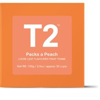 大人気 T2 フルーツティー Packs A Peach ピーチ味 100g