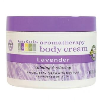 オーラカシア ラベンダー ボディスクリーム (Aura Cacia Lavender Body Cream)