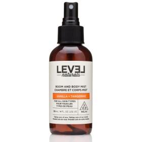 レベルナチュラルズ バニラタンジェリン ルーム&ボディミスト(Level Naturals Room & Body Mist)