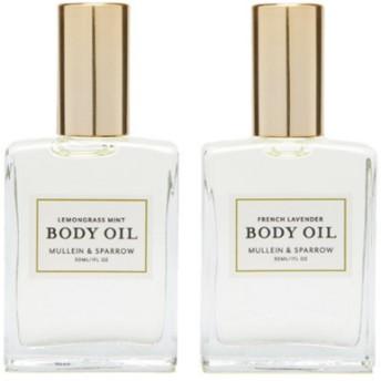 モリーン&スパロウ ボディオイルセット (Mullein & Sparrow Body Oil Duo Gift Set)