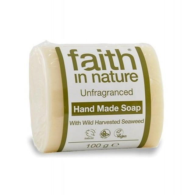 フェイス イン ネーチャー 100% Natural オーガニック 無香料 海藻 ハンドメイド ソープ