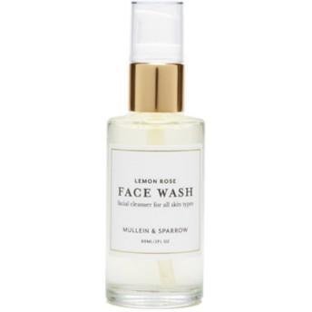 モリーン&スパロウ レモンローズ フェイスウォッシュ 洗顔料(Mullein & Sparrow Lemon Rose Face Wash)