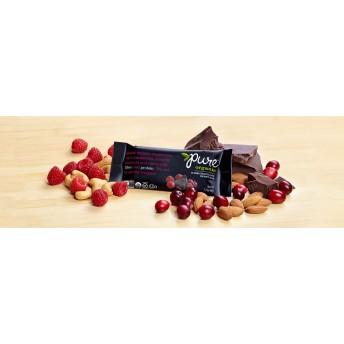 Pure Organic ダークチョコレートベリー ナッツバー 5本セット
