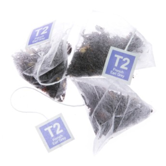 T2 フレンチアールグレイ ティーバッグ25個入り French Earl Grey Teabag Gift Cube
