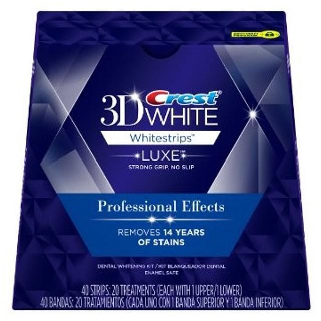 箱付 クレスト3Dホワイトストリップ Crest 3D 40枚(20回分)