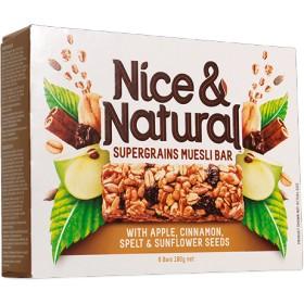 単品販売!スーパーフルーツ ミューズリーバー アップル&シナモン 31gx1本 Apple & Cinnamon