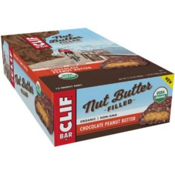 日本未発売味 USDA認証 クリフバー オーガニックチョコレートピーナッツバター 12本 (CLIF BAR ORGANIC)