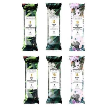 サカラ エンパワーバー 3種類セット 6本入り(Sakara The Empower Bar Collection )