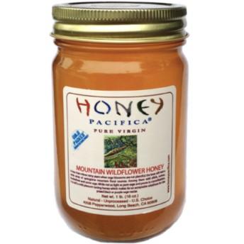 ハニーパシフィカ マウンテンワイルドフラワーハニー蜂蜜( HONEY PACIFICA Mountain Wildflower Honey)