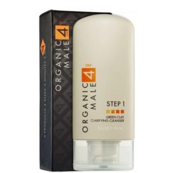 オーガニックメール オイリー肌用グリーンクレイクレンザー (Organic Male OM4 Oily)