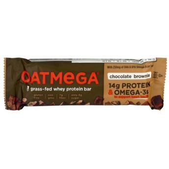Oatmega 草で育てられたホエープロテインバーチョコレートブラウニー