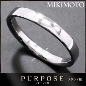 ミキモト MIKIMOTO リング 16号 Pt950 プラチナ 指輪