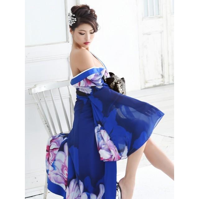 22cbea65a645d ドレス - Ryuyu キャバ ドレス ドレス キャバ キャバドレス 花魁 コスプレ 衣装 和柄ドレス コンパニオン