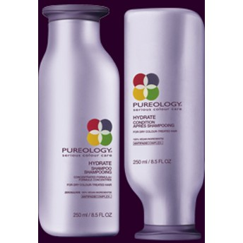 武田久美子さん愛用 ピュアオロジー ハイドレート シャンプー&コンディショナー(Pureology Hydrate Shampoo )