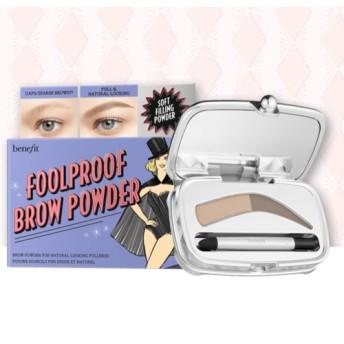 ベネフィット フールプルーフ ブローパウダー 05 ディープ (Benefit foolproof brow powder)