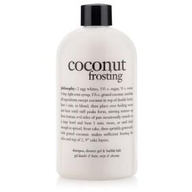 フィロソフィー ココナッツフロスティング 3イン1 バスソープ 473ml (Philosophy coconut frosting)