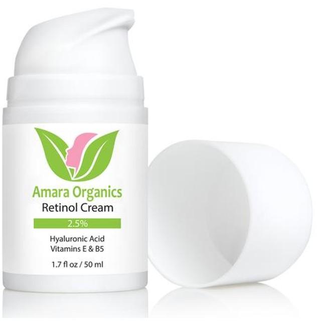 アマラオーガニック ヒアルロン酸配合レチノールクリーム / Retinol Cream for Face