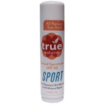 トゥルーナチュラル SPF 30 スポーツスティック サンスクリーン (True Natural SPF 30 Sunscreen)