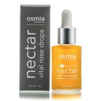 ネクター・バイタル・ローズ・ドロップス/美容セラム・天然の日焼け止め『 Osmia Organics・オズミア オーガニクス』
