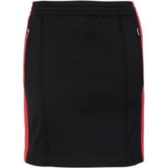 《期間限定セール開催中!》CALVIN KLEIN JEANS レディース ミニスカート ブラック S 53% コットン 47% ポリエステル TRACK SKIRT