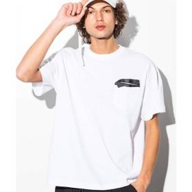 SHIFFON / シフォン テープポケットビッグTシャツ