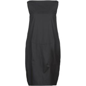 《セール開催中》BLANCA LUZ レディース ミニワンピース&ドレス ブラック 40 コットン 97% / ポリウレタン 3%